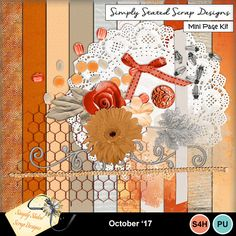 Pack of 15 Elements & 10 Papers for the October 2017 mini kit. Personal & Scrap for Hire use only. 300dpi. Full size. 12 x 12. #mymemories #mymemoriessuite #scrapbooking #digitalscrapbooking #digiscrapbooking #digitalscrapbookkits #kits #papers #elements #tags #frames #flowers #digitalflowers #digitalpapers #digitalribbons #digitalbows #digitalframes #digitalscatters #digitalmasks