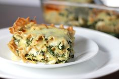i wrestled a cupcake once: Spinach and Artichoke Lasagna