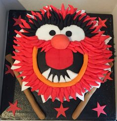 Animal from muppets cake