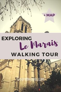 Walking tour in the Marais, one of Paris' oldest neighbourhood. #paris #walking tour