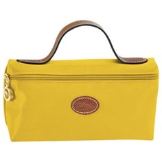 Longchamp Tasche Le Pliage Large Cosmetic Bag Curry