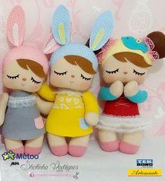 Boneca Metoo Feltro Bonecos Em Feltro Toys Dolls E