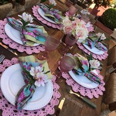 Summer Table Decorations, Decoration Table, Wedding Decorations, Easter Table Settings, Wedding Table Settings, Outdoor Wedding Tables, Dining Decor, Diningroom Decor, Beautiful Table Settings