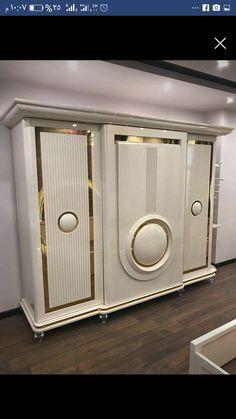 دولاب Wall Wardrobe Design, Wardrobe Door Designs, Wardrobe Room, Wardrobe Furniture, Kitchen Cupboard Designs, Bedroom Cupboard Designs, Bedroom Bed Design, Bedroom Furniture Design, Bedroom Tv Cabinet