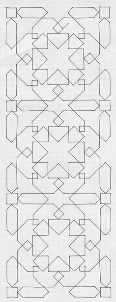 Can you recreate these Islamic Tiling Patterns?