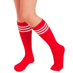 summer date outfits Purple Socks, Red Socks, Cheers Theme, Theme Days, Tube Socks, Roller Derby, Collection, Color, Free Shipping