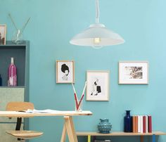 Lámpara SUBE BAJA - Leroy Merlin Craft Room, Decor, Lamp, Home Decor Decals, Design Studio, Home Decor, Room, Color