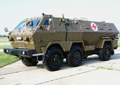 ambulance based on a Tatra Army Vehicles, Armored Vehicles, Military Armor, Military Aircraft, Armoured Personnel Carrier, Armored Fighting Vehicle, Expedition Vehicle, Futuristic Cars, Emergency Vehicles