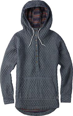 cool Burton Cabo Woven Pullover - Women's Snowboard Jacket - Hoodie - Hoody - Gift Id...