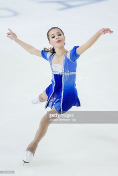 News Photo : Elizaveta Nugumanova of Russia competes during...