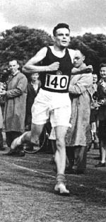 An Olympic honour for Alan Turing : The 2012 Olympics offer the perfect chance to mark the anniversary of a great mathematician – and marathon runner. The last time Britain hosted the Olympics, in 1948, Turing tried out for the British Olympic marathon team. He came fifth in the trials. / John Graham-Cumming | @guardian | photo : The Alan Turing Internet Scrapbook [http://www.turing.org.uk/turing/scrapbook/run.html] | #AlanTuringYear