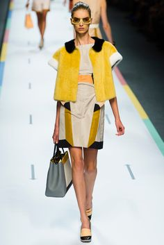 Fendi Spring 2013 Ready-to-Wear - Collection - Gallery - Style.com