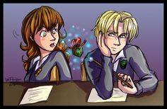 Dramione - It's for you... by irishgirl982.deviantart.com on @deviantART