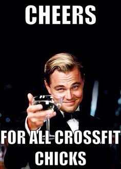 OH thank you (fantasy) husband! #crossfit #leonardodicaprio