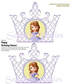 Sofia The First Free Party Printables - Seshalyn's DIY Party IdeasSeshalyn's DIY Party Ideas