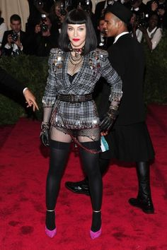 """Madonna The Metropolitan Museum of Art's Costume Institute benefit celebrating """"PUNK: Chaos to Couture"""""""