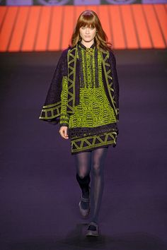 Anna Sui navajo collection.