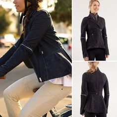 Lululemon ride one blazer Pre owned Lululemon ride on blazer size 6. No tear or hole. No trade lululemon athletica Jackets & Coats Blazers