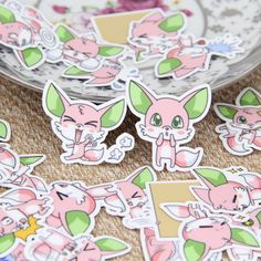 Aliexpress.com : Buy 40pcs Cute Pink Fox Animals Scrapbooking Floral Stickers DIY Craft DIY Sticker Pakc Photo Albums Deco Diary Deco from Reliable album suppliers on Candy DIY Store