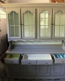 Coast to Cottage - Painted Furniture Annie Sloan Coco and Old White