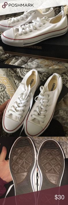 Women's converse sneakers Women's converse sneakers still in the box never been worn! Perfect condition Converse Shoes Sneakers