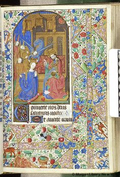 Book of Hours, MS M.1093 fol. 73r - Images from Medieval and Renaissance Manuscripts - The Morgan Library & Museum