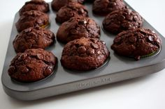 Ty nejlepší čokoládové muffiny
