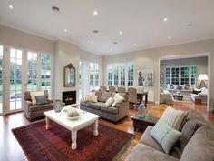 Beautiful California bungalow via driftwood interiors - window love