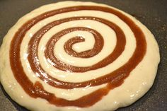 Cinnamon Roll Pancakes - REALLY GOOD! But dirties a lot of dishes and makes a little bit at a time