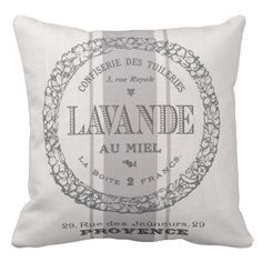 trendy classic French Lavender grain sac Throw Pillow. *** Find out even more at the picture link