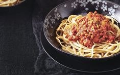 10 healthy pasta dishes under 450 calories nutrition myfitnesspal healthy p Healthy Pasta Dishes, Healthy Pastas, Healthy Recipes, Delicious Recipes, Tasty Meals, Healthy Beans, Pasta Food, Pasta Sauces, Healthy Foods