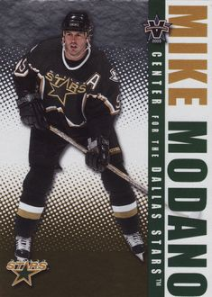 Mike Modano # 33 - 2002-03 Pacific Vanguard Hockey