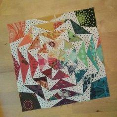 Resultado de imagen de curved flying geese pattern