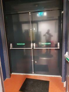 Steel Security Doors, Fire Escape, Language School, French Door Refrigerator, Locker Storage, Home Decor, Decoration Home, Room Decor, Home Interior Design