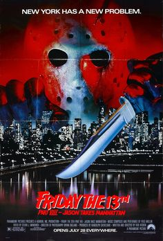 Now watching on AMC: Friday the 13th Part VIII: Jason Takes Manhattan. My favorite of the series. Man, NYC was such a shithole in the 80s.