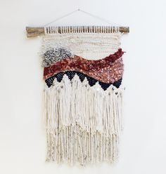 Handwoven wall hanging by Hello Hydrangea