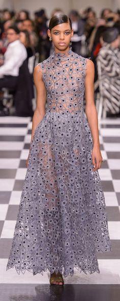 Christian Dior Printemps-été 2018 - Haute couture - http://fr.orientpalms.com/Christian-Dior-7005 - ©ImaxTree