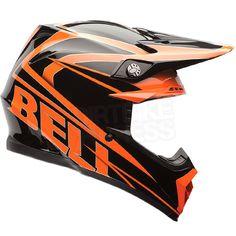 2015 Bell Moto 9 Helmet - Tracker Orange