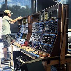 MATRIXSYNTH: Moog Music Finishing the Last Two Moog System 55s