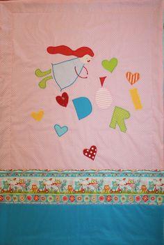 Dóri - flying angel baby blanket 70 x 100 cm. 2017. www.masnimesi.net