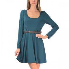 Alisa Vintage Dress Green