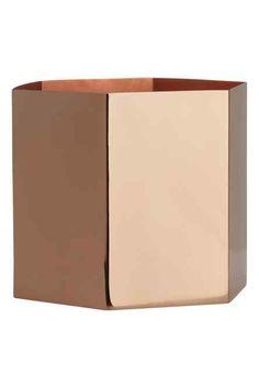 Caixa metálica com tampa | H&M