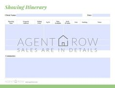 Get organized for real estate success with Agent Row!  | Forms, Planners &…
