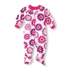A soft, comfy sleep time style with pretty floral print.
