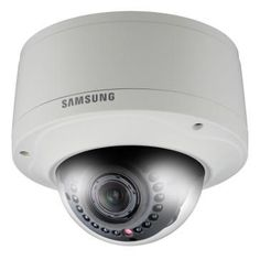 Samsung SNV-7080R IP Full HD 1080p, 3MP External IR Vandal Dome Camera - auctionsecuritycameras.com