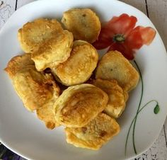 Banany smażone w cieście - Blog z apetytem Banana Pudding Recipes, Pancakes, French Toast, Snack Recipes, Food And Drink, Chips, Breakfast, Ethnic Recipes, Blog