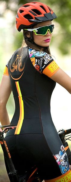 Curves and Lines: Women and Bikes