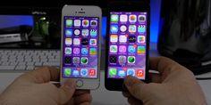 iPhone 6 Simulator: iOS 7 auf 4,7 Zoll iPhone 6 im Video - http://apfeleimer.de/2014/05/iphone-6-simulator-ios-7-auf-47-zoll-iphone-6-im-video -                 Auch wenndas iPhone 6 mit Sicherheit mit iOS 8ausgeliefert wird: das nachfolgende Video gibt ein erstes Gefühl für dasneue, deutlich größere iPhone 6 mit 4,7 Zoll Display. Dabei bedient sich 9to5 Autor Dom Esposito, der bereits durch iPhone-Bananen-Vergleicheauf sich aufmerk...
