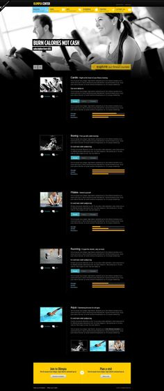 25 Free and Premium HTML\/CSS Sports Website Templates Website - fitness templates free