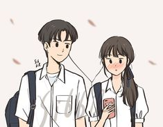 You're my favorite song 🎶❤️ Cute Couple Drawings, Cute Couple Art, Cute Drawings, Cartoon Art Styles, Cute Art Styles, Aesthetic Anime, Aesthetic Art, Arte Indie, Couple Ulzzang